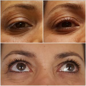 REHAUSSEMENT DE CILS MASCARA  SEMI PERMANENT