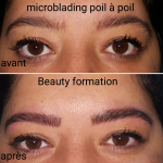 MICROBLADING SOURCILS POIL A POIL